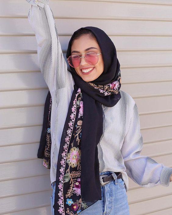 پیشنهادهای استایلی برای بانوان با حجاب در مهمانی های آخر هفته ! - وارونه