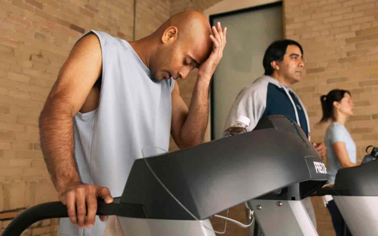 ورزش کردن هنگام بیماری