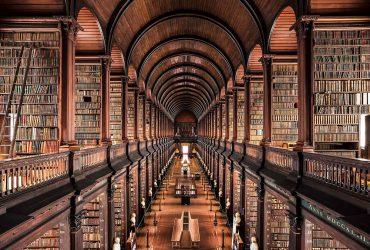 نگاهی به داخل کتابخانه های جذاب اروپایی از دوربین  Thibaud Poirier