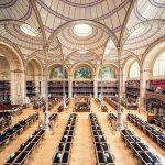 داخل کتابخانه های جذاب اروپایی