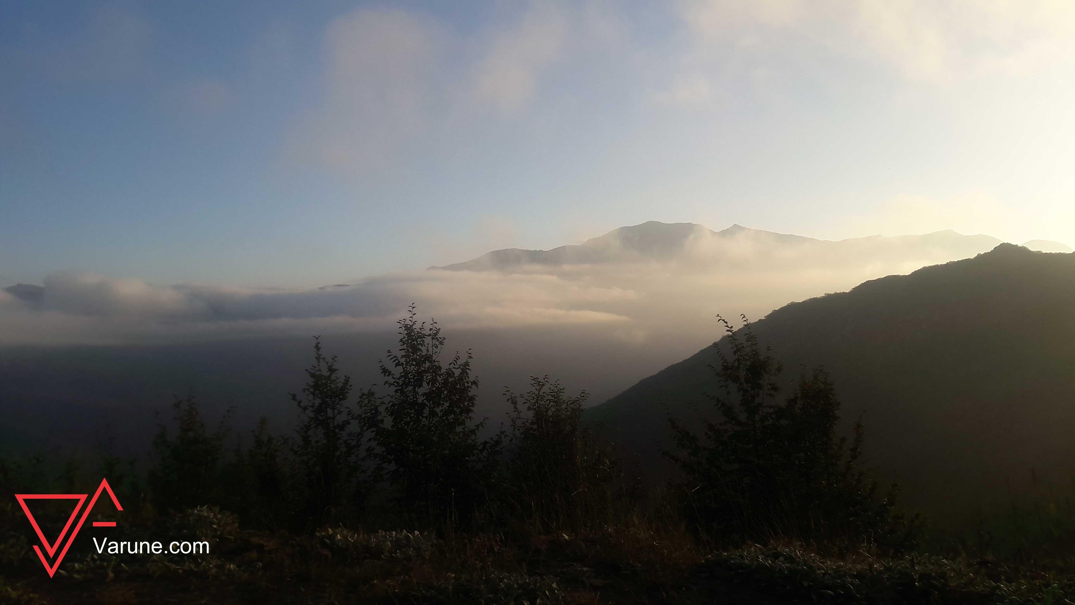 گزارش سفر به جنگل ابر شاهرود