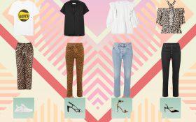 4 استایل پیشنهادی با لباس های طرح پلنگی