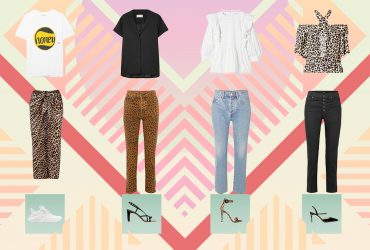 4 استایل پیشنهادی با لباس های طرح پلنگی !