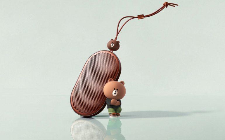 همکاری بنگ و اولافسن با لاین برای تولید اسپیکرهایی با تم شخصیت خرس قهوه ای