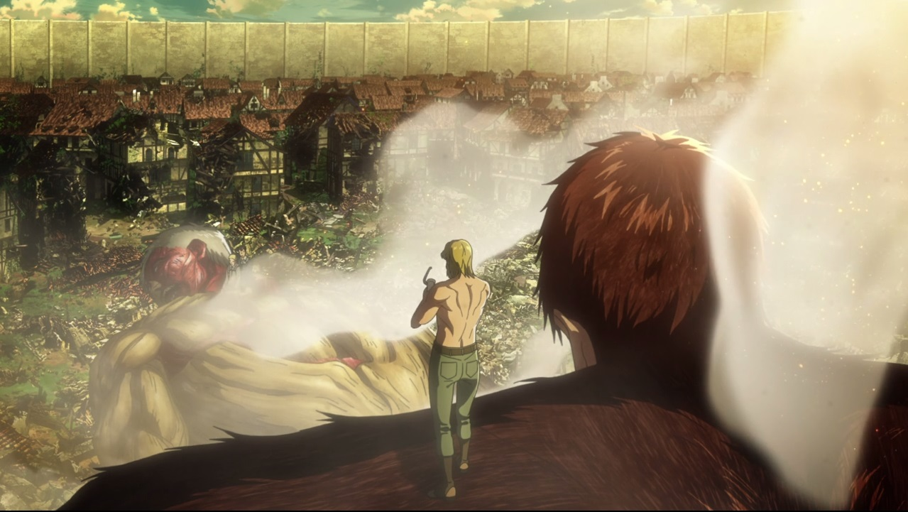 قسمت دهم فصل سوم انیمه Attack on Titan