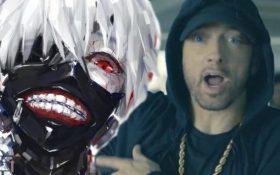 استفاده از سمپل های موسیقی متن انیمه توکیو غول برای ساخت آلبوم جدید امینم Kamikaze