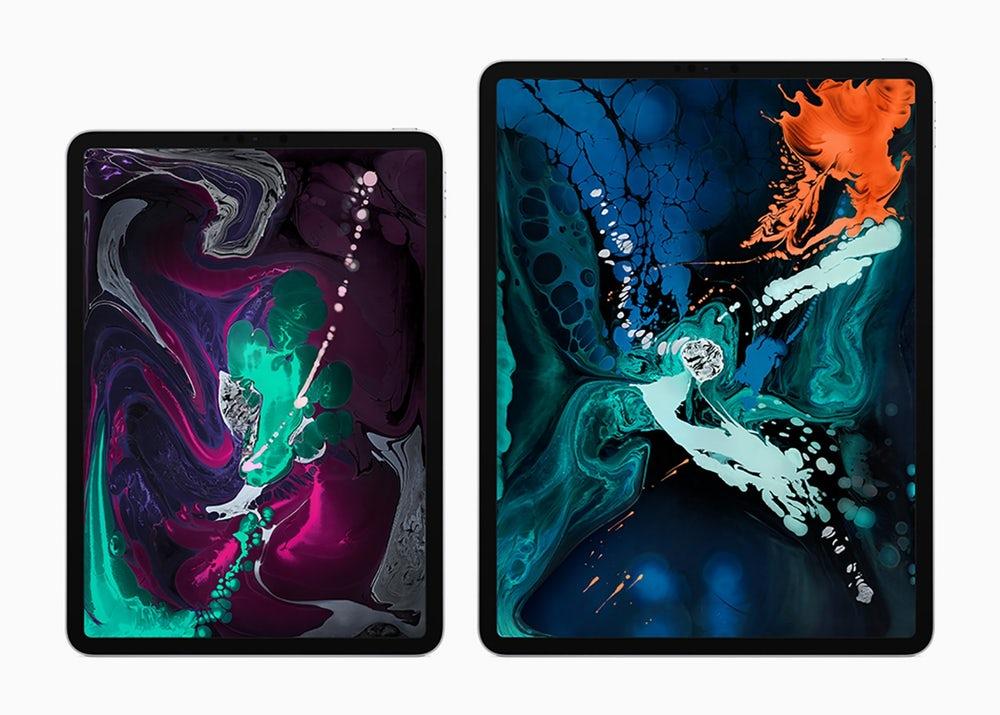اپل آیپد پرو 2018 با سرعت بیشتر،بدنه باریکتر و بدون دکمه هوم معرفی شد !