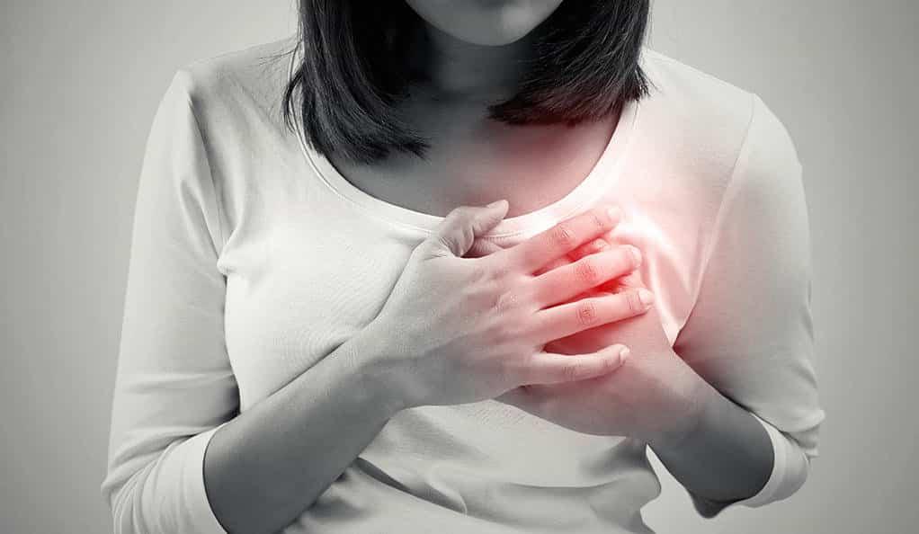 مشکلات یا حمله ی قلبی در زنان