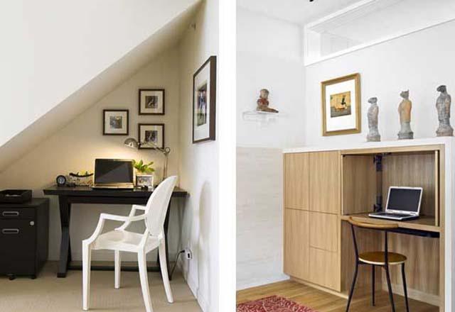 اتاق کار خانگی در فضاهای کوچک