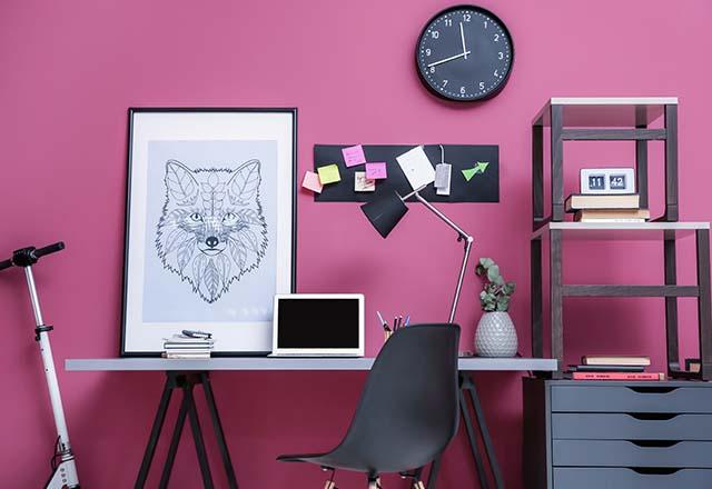 ایده های برای طراحی اتاق کار خانگی در فضاهای کوچک