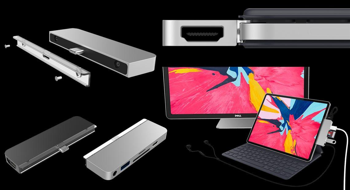 HyperDrive اولین هاب اختصاصی برای آیپد پرو 2018 !
