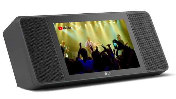 اسپیکر هوشمند ال جی WK9 با قابلیت پخش صدای های فای و نمایشگر 8 اینچ !
