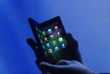 اولین گوشی تاشو سامسونگ سرانجام معرفی شد!