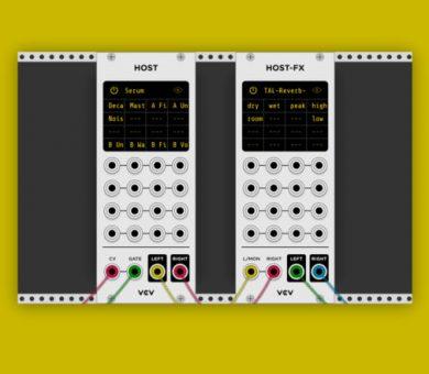 قابلیت پشتیبانی از Vst پلاگین به سینتی سایزر ماژولار VCV Rack اضافه شد