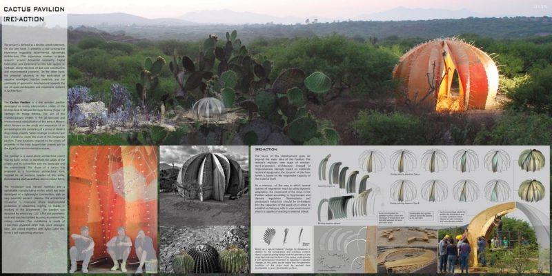 Cactus Pavilion طراحان : Andrés Martín-Pastor / Francisco González-Quintial