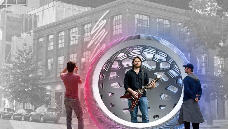 Sound Pods طراح : Dan Liu