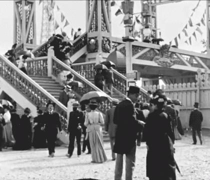 فیلم های تدوین شده از سال 1890، پاریس در قرن 19 را زنده تر از همیشه نمایش می دهد!