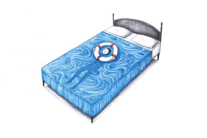 فانتزی ها و ترس های اطراف تخت خواب ؛ تصویر سازی های بسیار جذاب از ویرجینیا موری