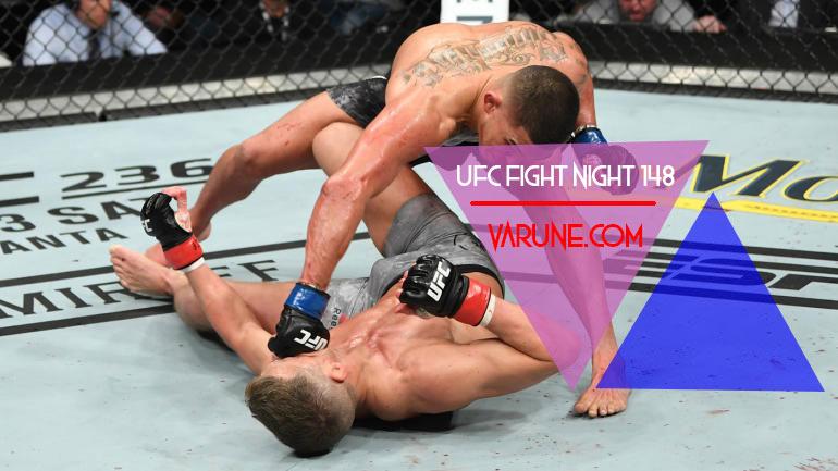 نگاهی به مبارزات UFC Fight Night 148 ؛ واندربوی برای اولین بار ناک اوت شد ! ! !