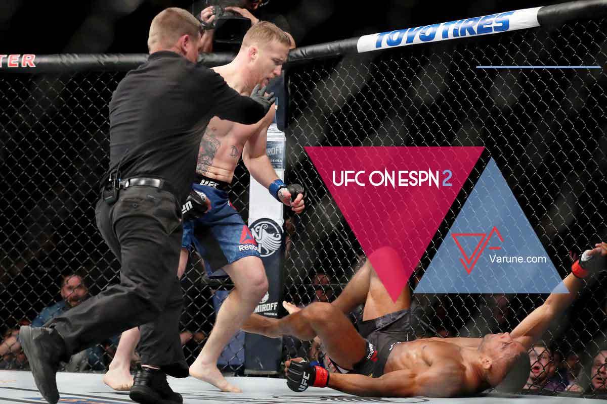 نگاهی به مبارزات UFC ON ESPN 2