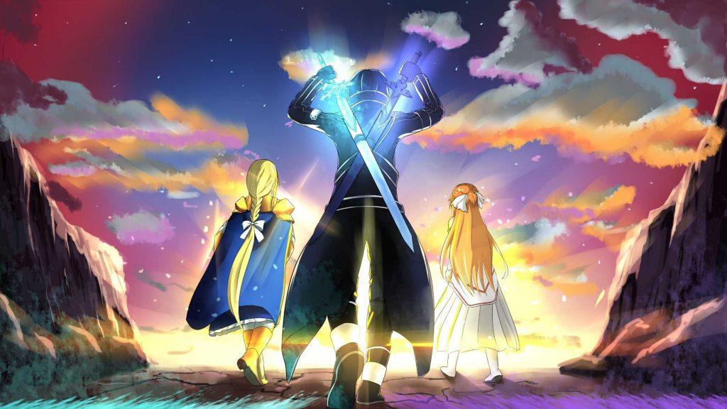 تاریخ انتشار انیمه Sword Art Online Alicization