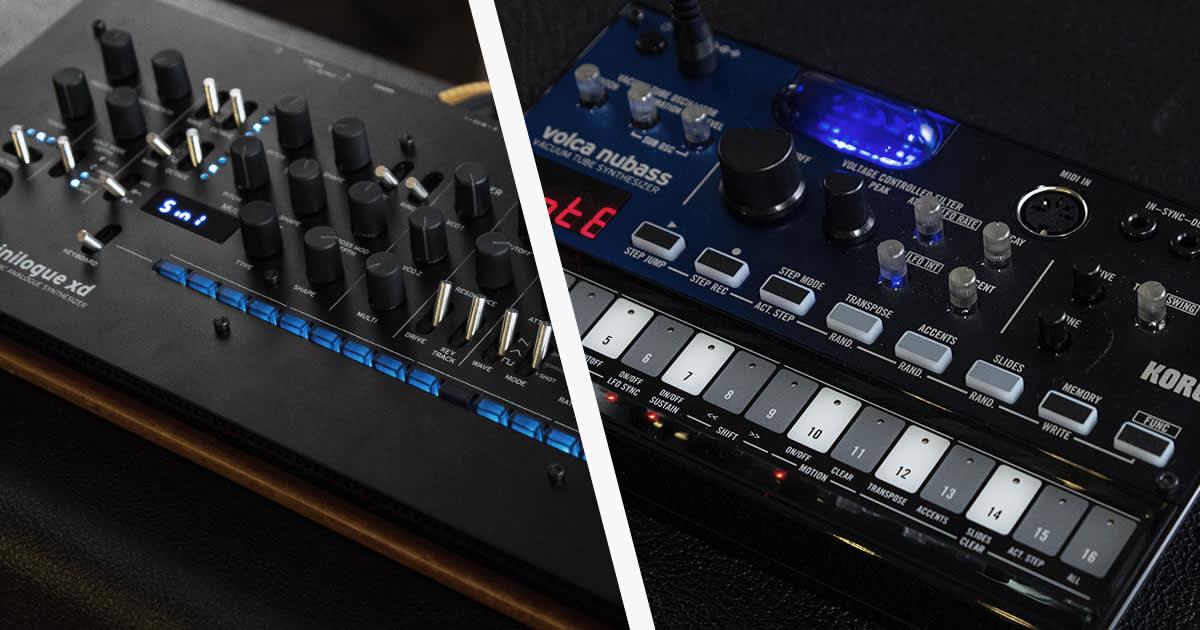 کورگ دو سینتی سایزر Volca Nubass و Minilogue XD Module را معرفی کرد