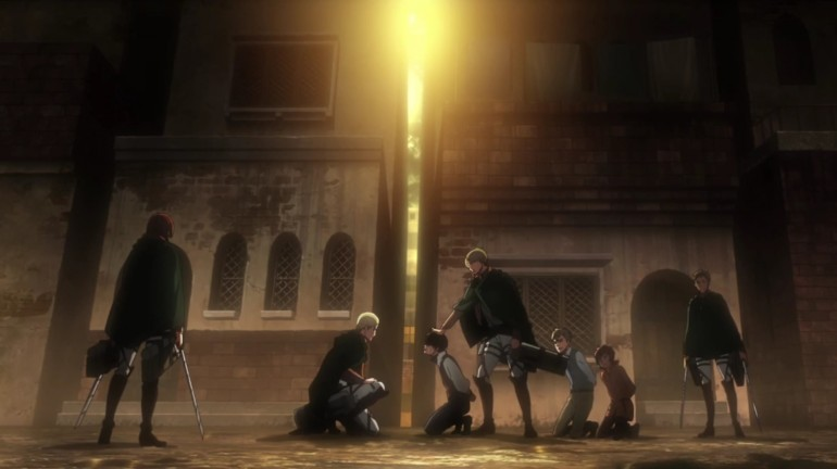 Attack on Titan: No Regrets OVA