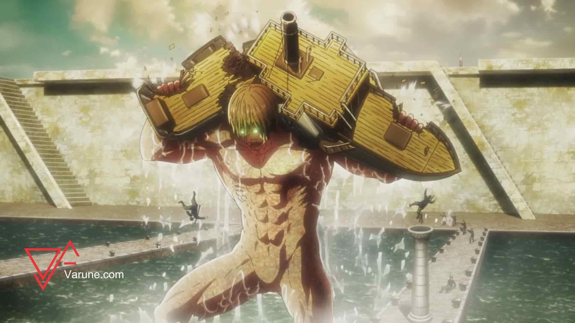 بررسی قسمت 57 انیمه Attack on Titan