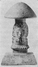 مجسمه قارچ کشف شده در گواتمالا 300 تا 600 قبل از میلاد مسیح