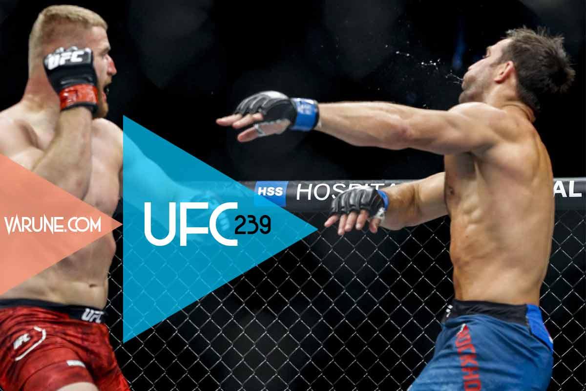 Luke Rockhold vs Jan Błachowicz یو اف سی 239
