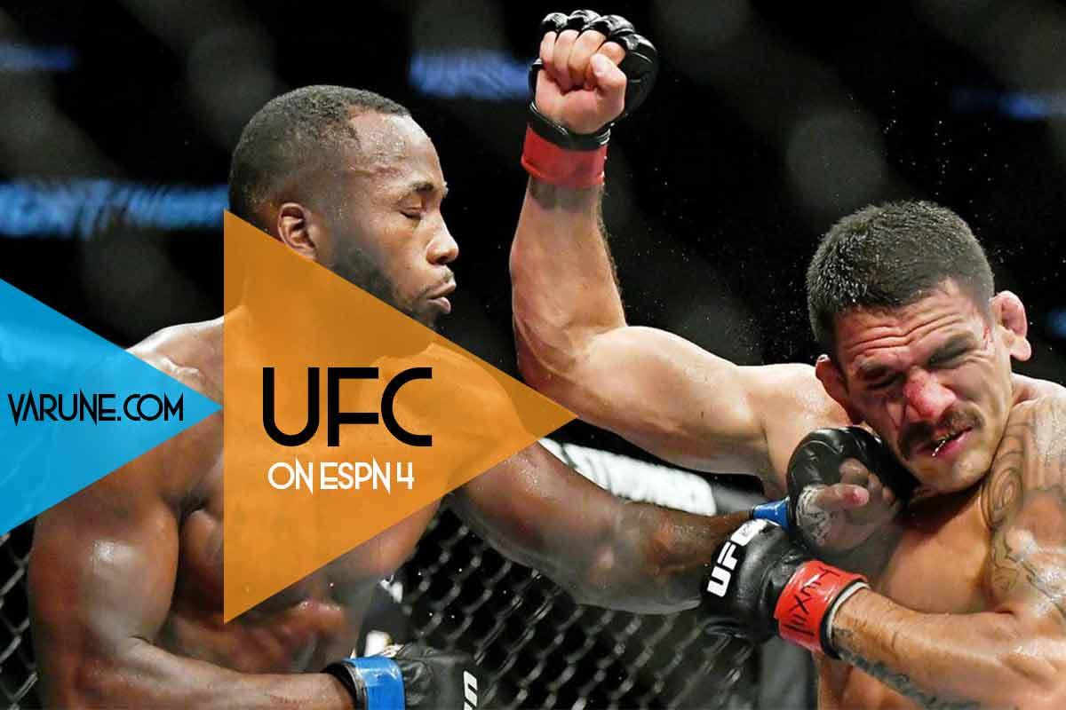 نگاهی به مبارزات UFC ON ESPN 4 ؛ 8 امین برد پیاپی لیان ادواردز !