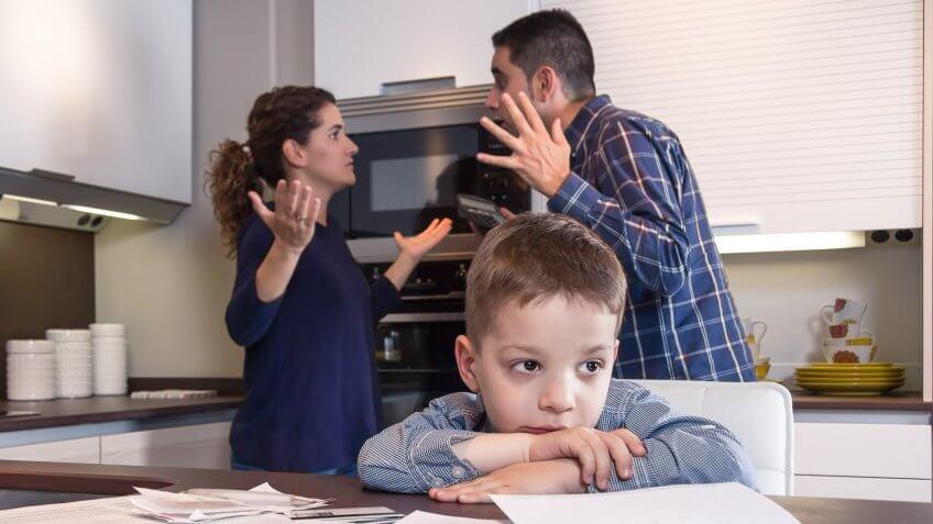 طلاق و کودکان طلاق