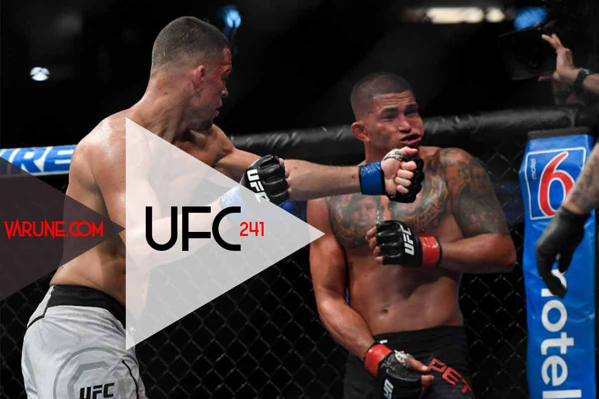 Nate Diaz vs Anthony Pettis / یو اف سی 241