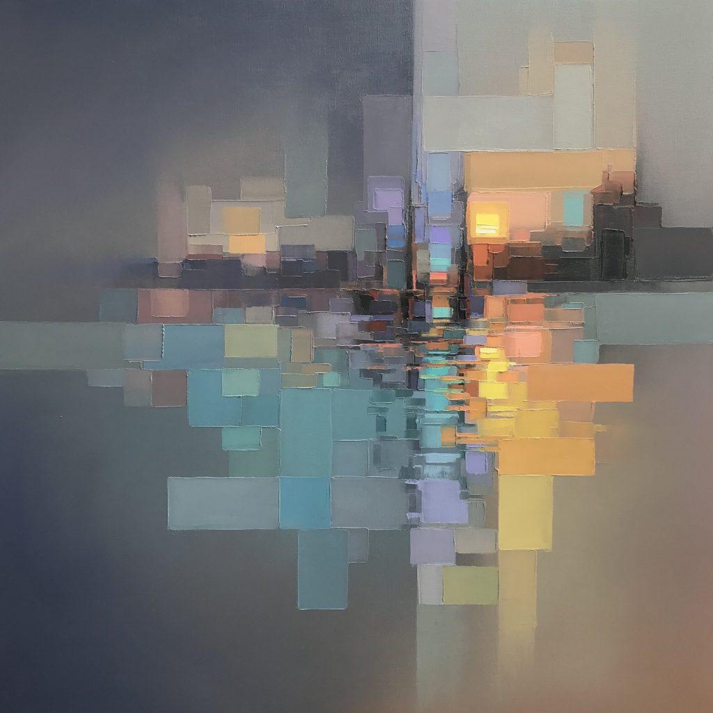 چشم اندازها مجموعه نقاشی های انتزاعی بسیار زیبا اثر جیسون اندرسون