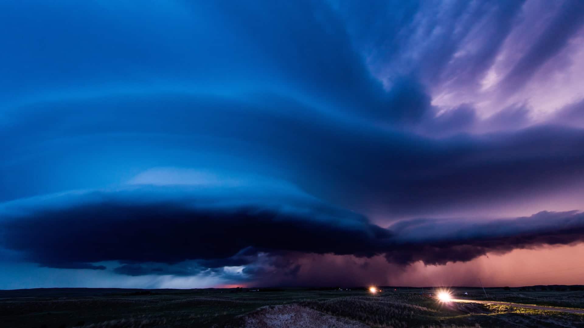 Vorticity 2 فیلمی تایم لپس از توفان های چرخشی و آسمان وحشی