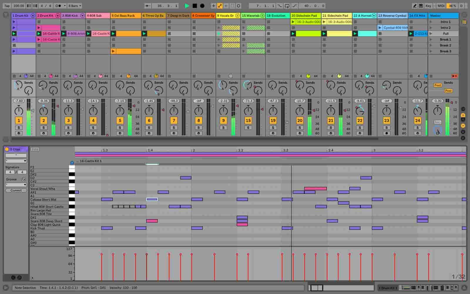 تشخیص دادن گام موسیقی با Ableton live