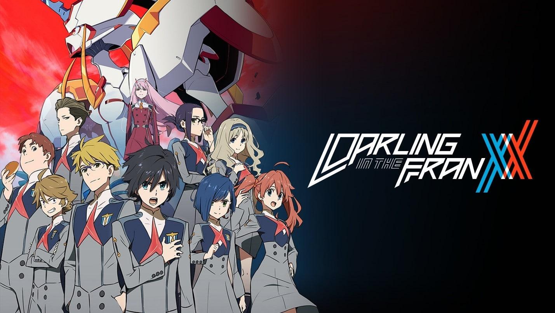 Darling in the FranXX بهترین انیمه های اکشن عاشقانه