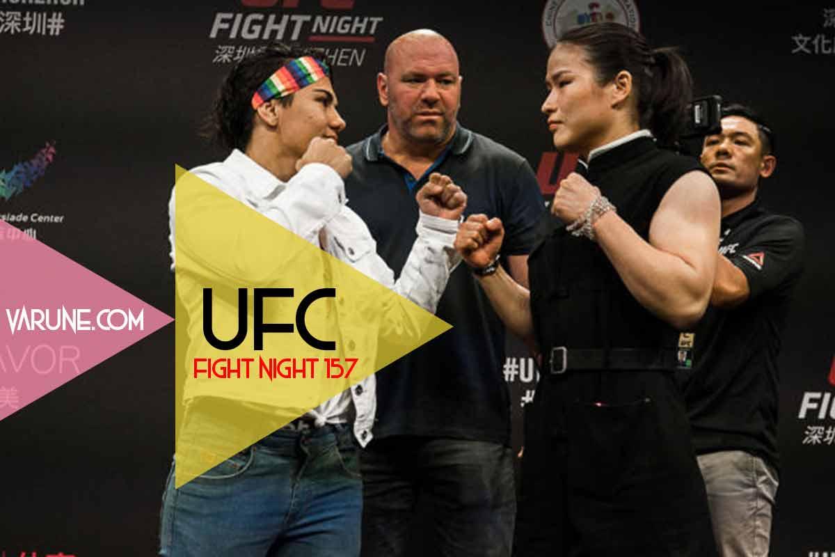 Jessica Andrade vs Weili Zhang ufc fight night 157