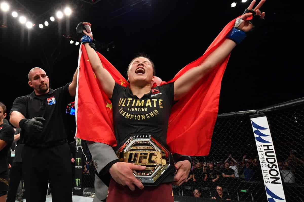 نگاهی به مسابقات یو اف سی فایت نایت 157 ؛ ژانگ ویلی اولین قهرمان چینی UFC !