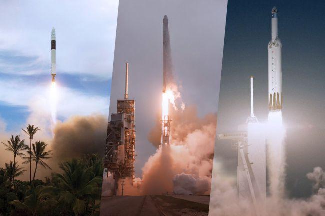 تکامل موشکهای SpaceX را در تصاویر مشاهده کنید