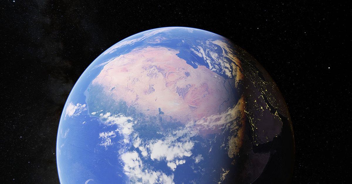 15 تصویر عجیب و دیدنی ثبت شده توسط Google Earth