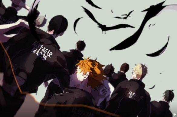 نیمه دوم فصل چهارم Haikyu