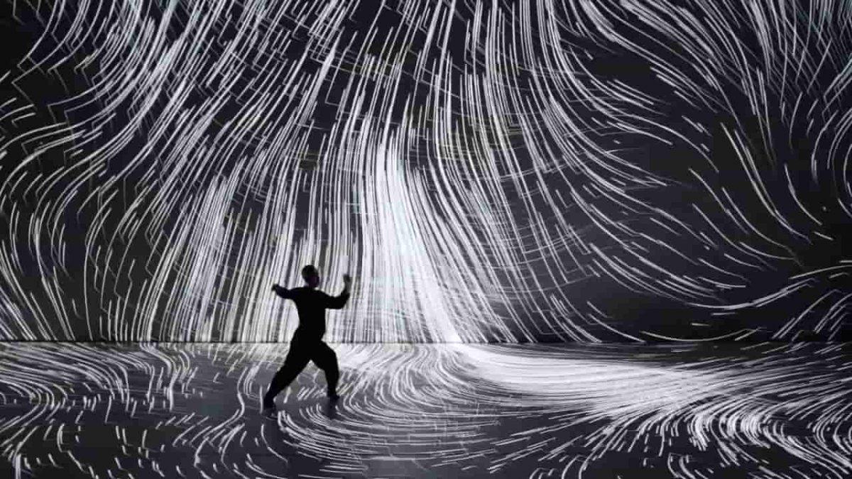 پرفورمنس صدا / تصویر / حرکات موزون از هنرمند مطرح ژاپنی هیروآکی اومدا