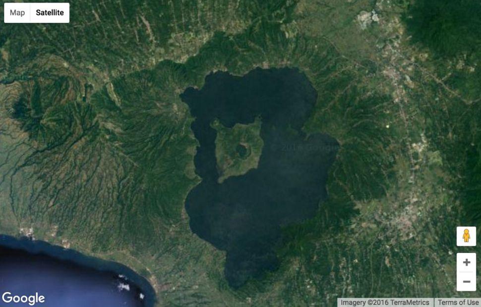 Island in a Lake on an Island in a Lake on an Island