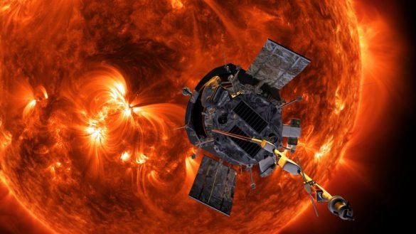 اولین جزئیات از خورشید