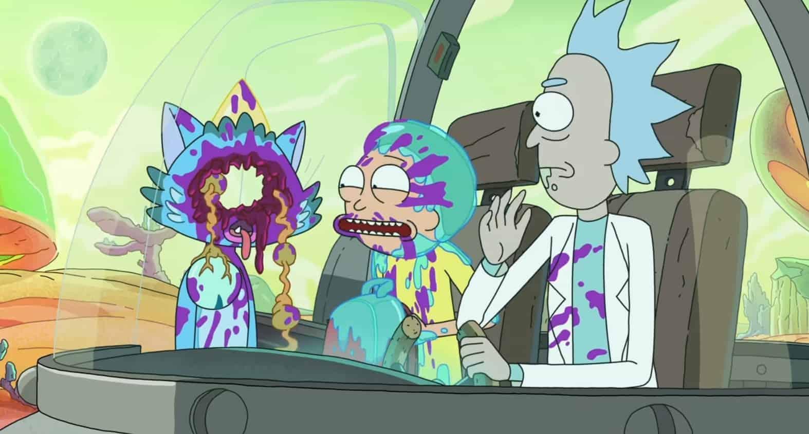 بررسی قسمت چهارم فصل چهارم Rick and Morty