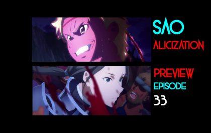 بررسی قسمت ۳۳ انیمه Sword Art Online Alicization