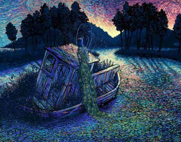 تصویرسازی های فوق العاده James R Eads