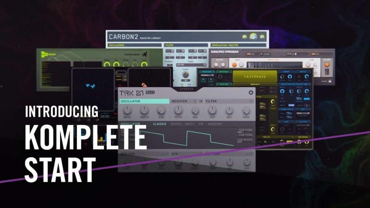 دانلود رایگان KOMPLETE START ؛ مجموعه ابزارهای حرفه ای برای آهنگسازی