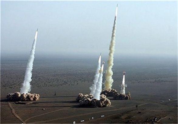 حمله موشکی ایران به پایگاه های هوایی آمریکا